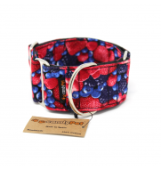 MARTINGALE dog collar BERRIES
